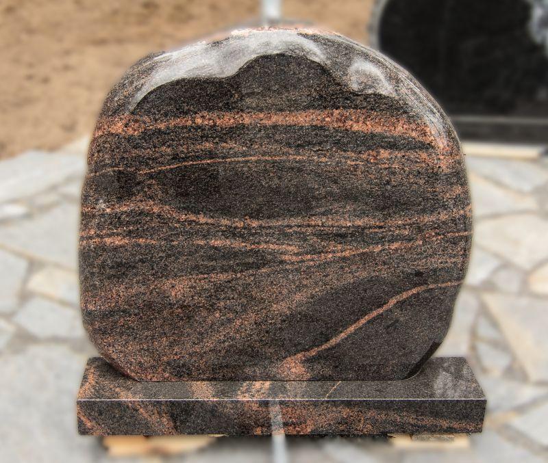Apvalus margo granito paminklas (KUL8)