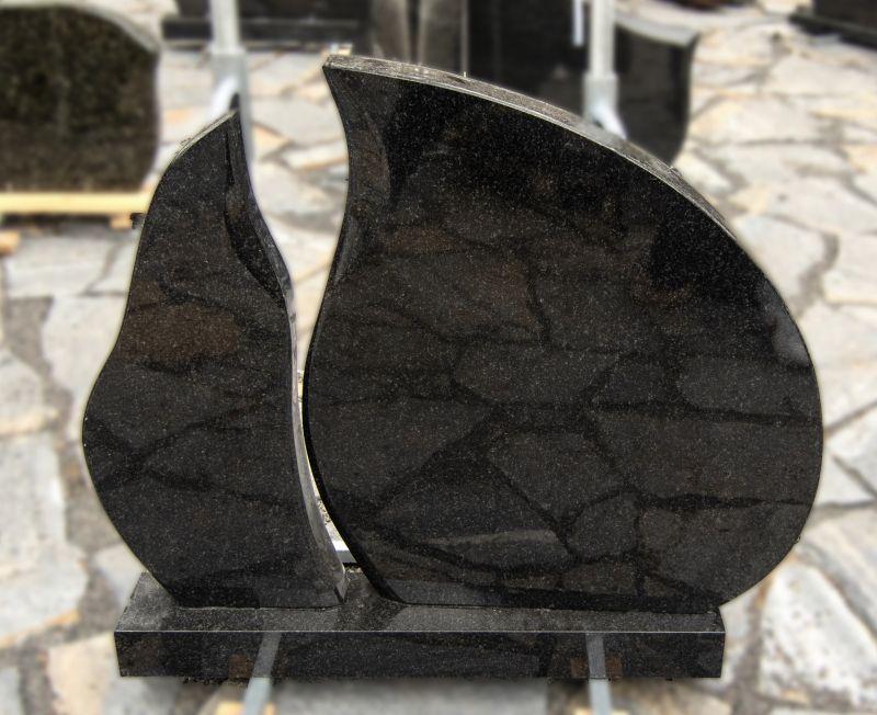 Dviejų dalių juodas blizgus  (KEL1)