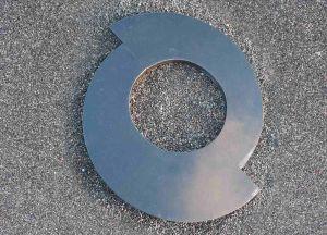 Juodo granito gėlynas (GEL4)