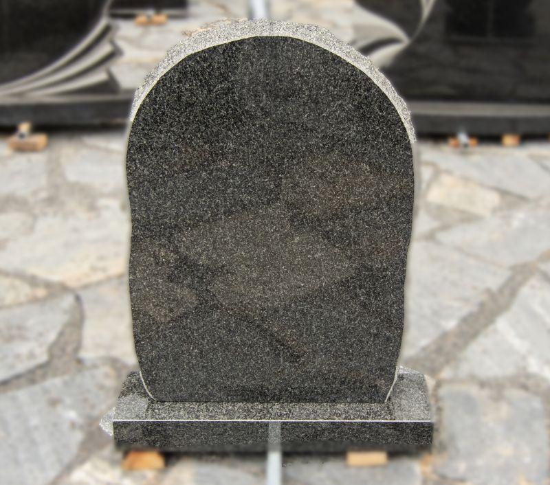 Minimalistinis pilko granito paminklas (P1500)