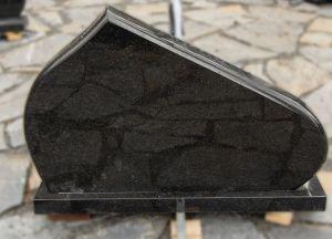 Pailgas juodo granito paminklas (VPM6)