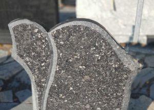"""Paminklas iš """"Blue Pearl"""" granito (VPM77)"""
