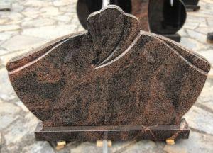 Rudai margo granito paminklas (KEL12)