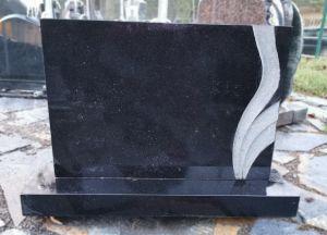 Stačiakampis juodas paminklas (P1001)