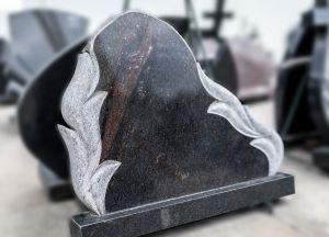 Vienos dalies, juodos ir baltos spalvos, paminklas (GP1892)