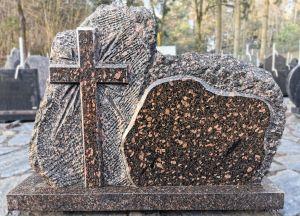 Vienos dalies paminklas su kryžiumi (KUL31)
