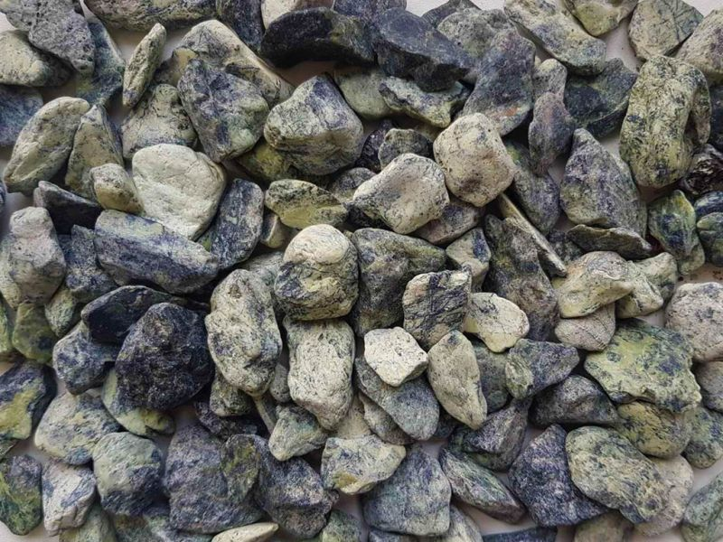 Žali gludinti akmenukai GREEN (GA005)