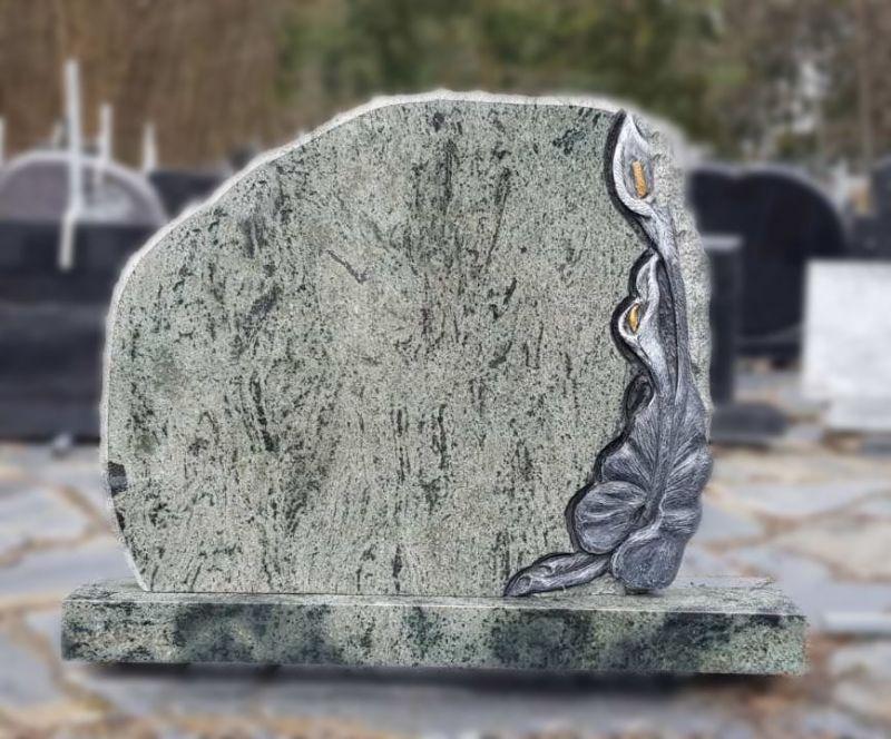 Žalsvo akmens paminklas su kalijos raižiniu (ROK45)
