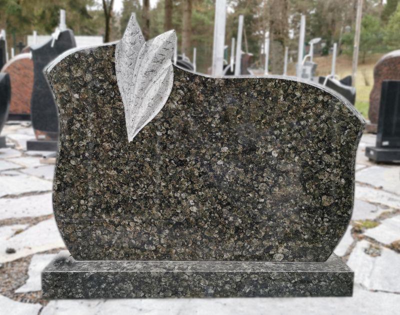 Žalsvo Baltic Green granito paminklas (KEL39)